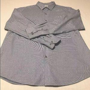 H Hart Schaffner Marx Men's Shirt Sz XL NEW